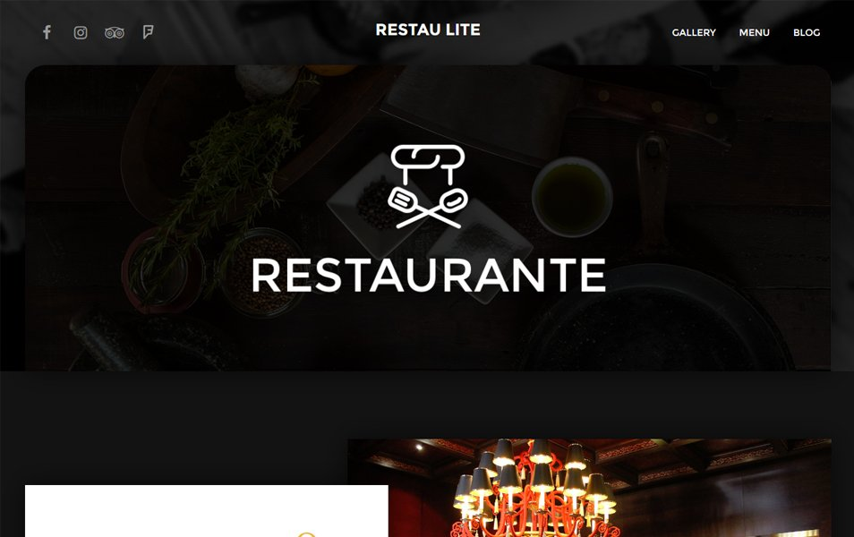 Restau Lite Responsive WordPress Theme