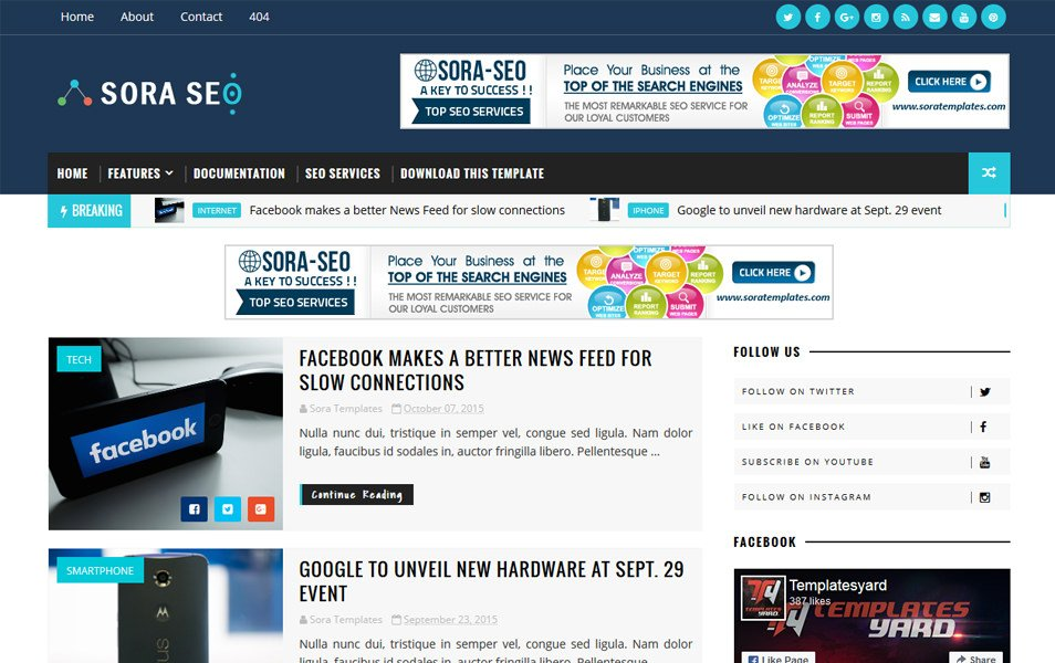 Responsive free blogger templates magazine for What is a responsive template