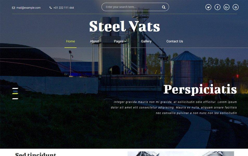 Steel Vats