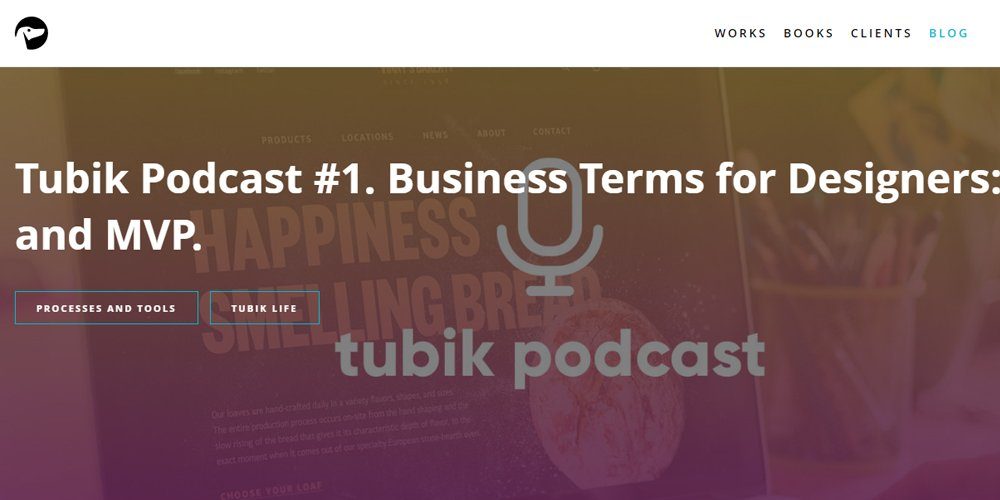 Tubik Podcast