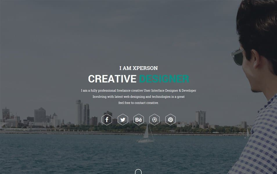 xPerson Lite Responsive WordPress Theme