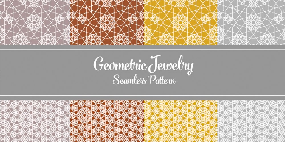 Free Geometric Seamless Pattern