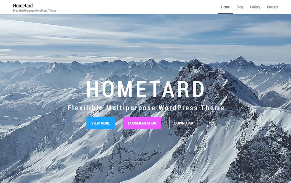 Hometard Responsive WordPress Theme