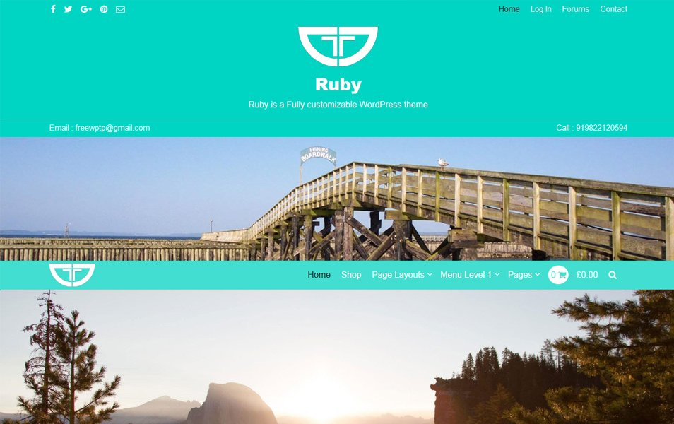 Ruby Responsive WordPress Theme