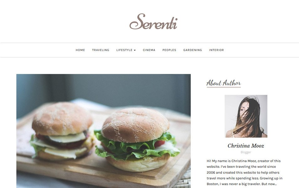 Serenti Responsive WordPress Theme