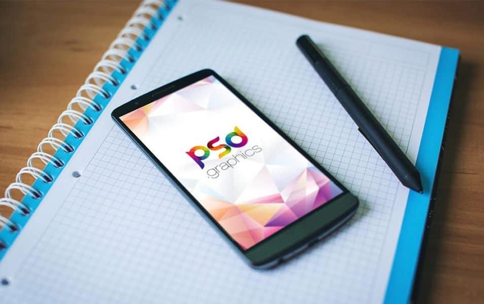 Smartphone Mockup Free PSD