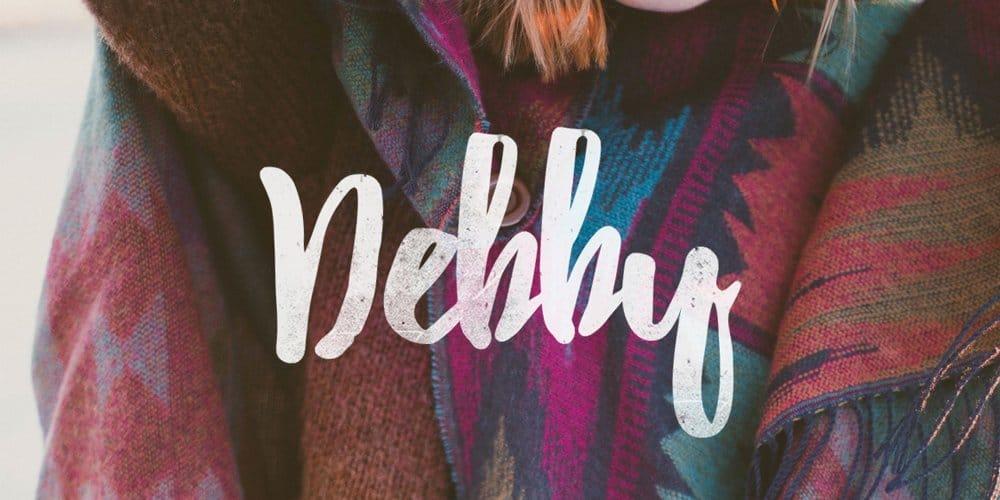 Debby به فونت