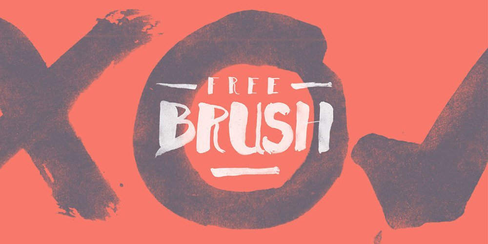 Free Handwritten Brush Font